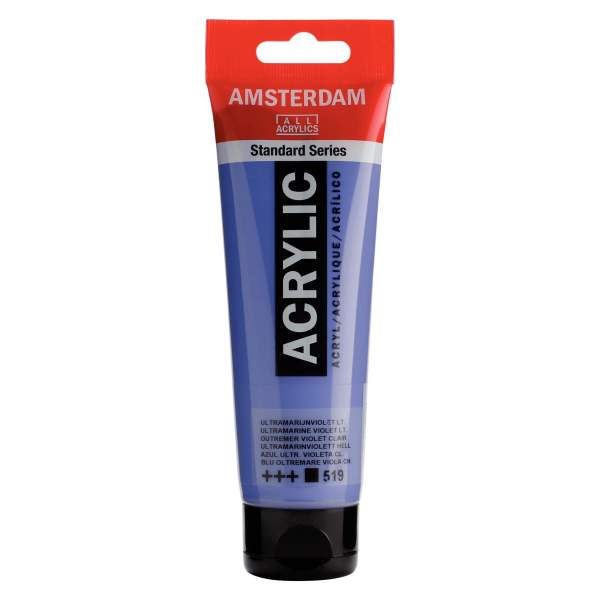 RAYART - Amsterdam Standard Series Acrylique Tube 120 ml Outremer violet clair 519