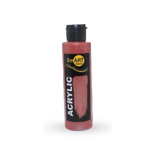 RAYART - Peinture Acrylique SmART deco - 130 ml -  rouge mars