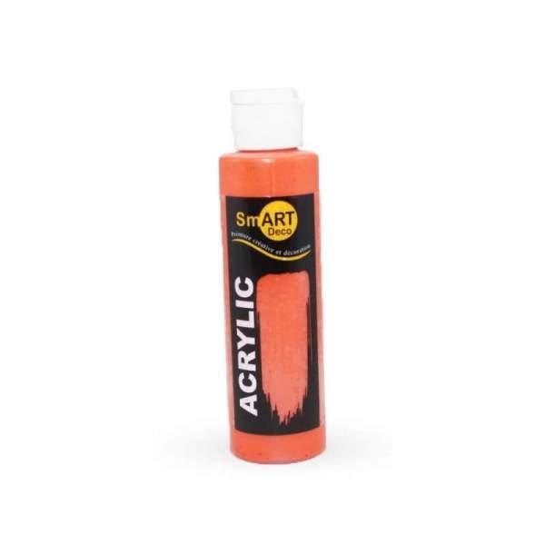 RAYART - Peinture Acrylique SmART deco - 130 ml - orange