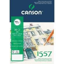 RAYART - Bloc Dessin 1557 -180 g/m² A5 21 x 14.8 cm - Canson
