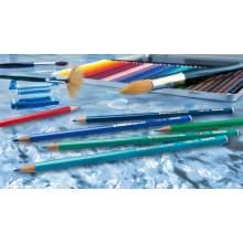 RAYART - Crayon de couleur aquarellable 12 pièces Stabilo Aquacolor