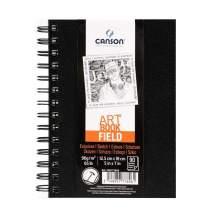 RAYART - Album Art Book field 12.5X18cm 90 feuilles Canson