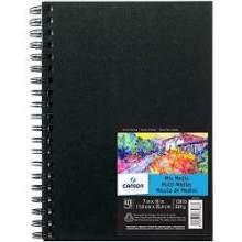 RAYART - Album Art Book Mix Media 17.8X25.4cm 40 feuilles Canson