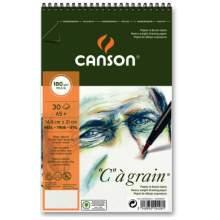 Album C à Grain A5+ 180G 30 feuilles Canson