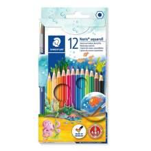 Crayon de couleur aquarellable 12 couleurs Staedtler