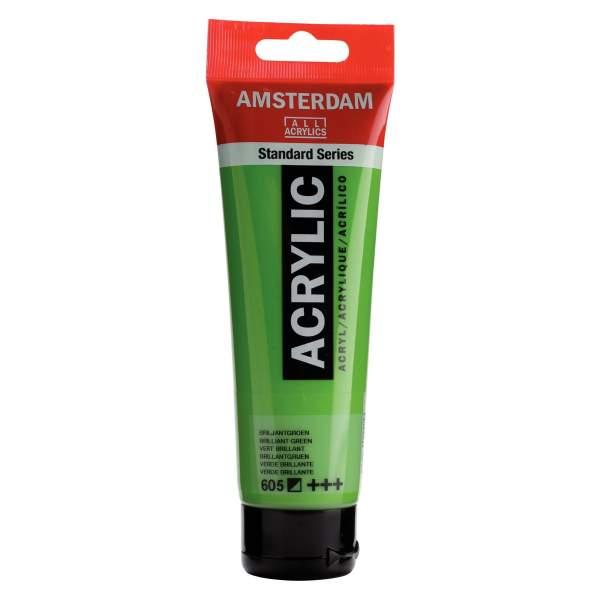 RAYART - Amsterdam Standard Series Acrylique Tube 120 ml Vert Brillant 605