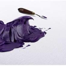 RAYART - Couteau à peindre truelle moyenne arrondie N°18 - Lefranc Bourgeois