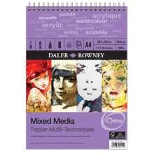 Album Papier Mixed Media A4 250 g 30 F Optima - Daler-Rowney