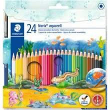 Crayon de couleur aquarellable 24 couleurs Staedtler