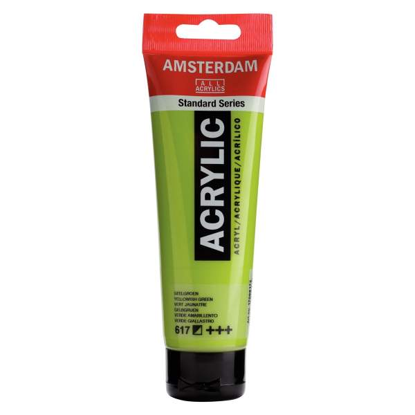 RAYART - Amsterdam Standard Series Acrylique Tube 120 ml Vert jaunâtre 617