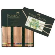 RAYART - Crayon Pitt Pastel boîte métal de 60 Faber Castell