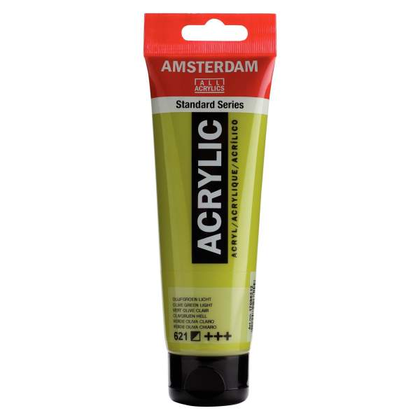 RAYART - Amsterdam Standard Series Acrylique Tube 120 ml Vert olive clair 621