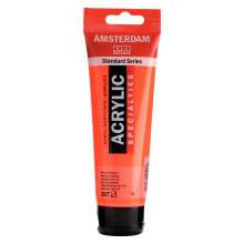 RAYART - Amsterdam Standard Series Acrylique Tube 120 ml Orange Fluo 257