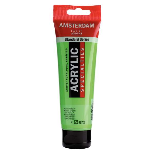 RAYART - Amsterdam Standard Series Acrylique Tube 120 ml Vert Fluo 672