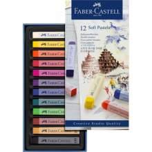 Boites De 12 Pastels Tendres Créative Studio Faber Castell