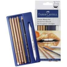 RAYART - Set de dessin Classique, monochrome - Faber Castell
