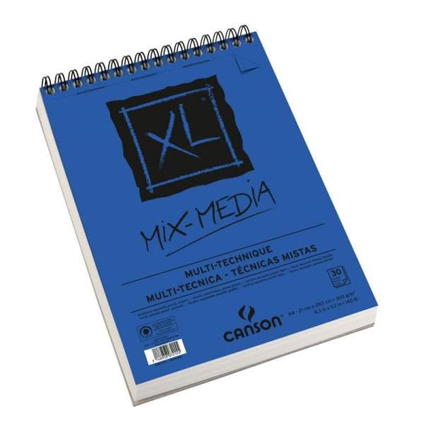 RAYART - Canson XL  Mix Media A4 300g/m² 30 feuilles - Canson