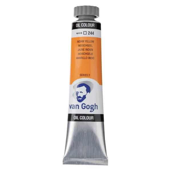 RAYART - Peinture a l'huile Van Gogh Jaune indien 244