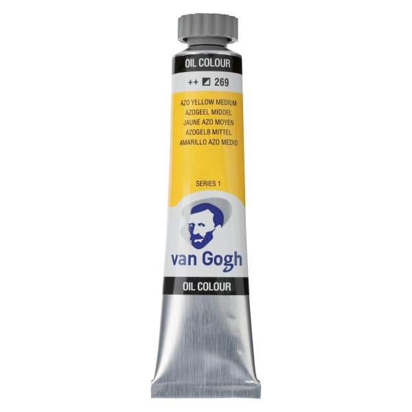 RAYART - Peinture a l'huile Van Gogh Jaune azo moyen 269