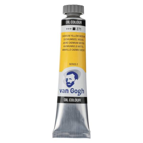 RAYART - Peinture a L'huile Van Gogh Jaune de cadmium moyen 271
