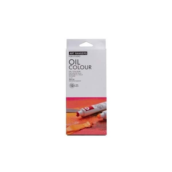Set Peinture a l'huile 12 tubes*12ml