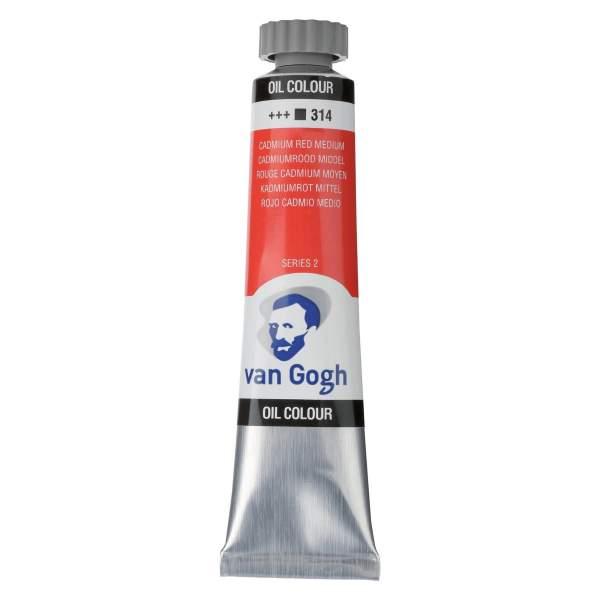 RAYART - Peinture a l'huile Van Gogh Rouge de cadmium moyen 314