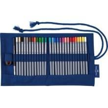 RAYART - Crayon aquarelle Goldfaber Aqua, rouleau de crayons, 30 pièces - Faber Castell
