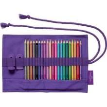 RAYART - Rouleau de crayons de couleur Sparkle, 20 couleurs - Faber Castell