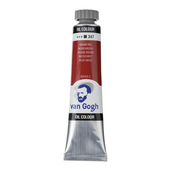 RAYART - Peinture a l'huile Van Gogh 20ml Rouge indien 347