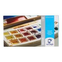 Aquarelle 24 couleurs en...